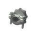 HALEX 05103B Clamp Connector; 3/8 Inch Twin Screw, 0.300 - 0.560, Inch, Zinc
