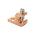 Panduit LICC4-22-C Grounding Lay-In Lug; 1-Hole, 4-14 AWG 0.220 Inch Bolt