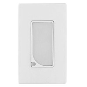 Leviton 6527-I Decora® Combination Switch With LED Guide Light; 3.7 Milli-Amp, 120 Volt AC, Wallbox Mount, Ivory