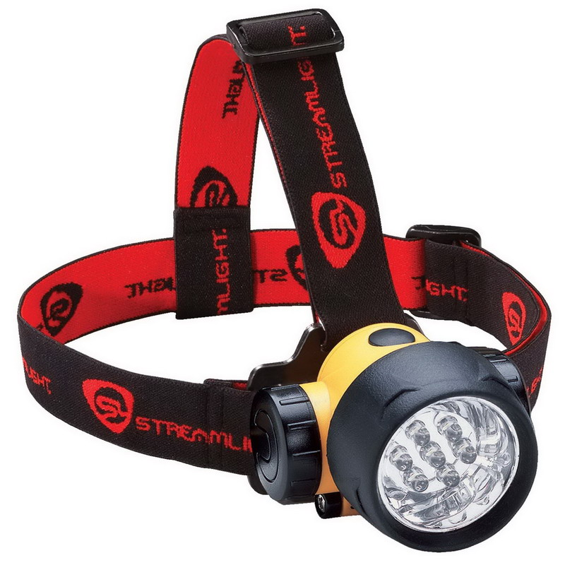 Streamlight 61052 Septor Headlamp; Yellow