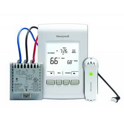 """""Honeywell YTL9160AR1000 RedLink EConnect SPSTWireless Programmable/Non-Programmable Line Volt Thermostat Kit 0.4 - 12.5 Amp, 120/240 Volt, Vertical Mount,"""""" 76003"