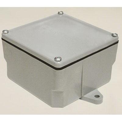 Cantex 5133708 Junction Box; 8 Inch Width x 7 Inch Depth x 8 Inch Height, PVC
