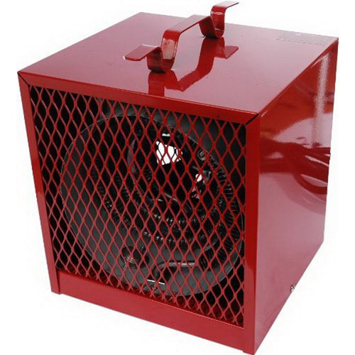 Marley BRH482 Contractor Heater 240/208 Volt  20.0/17.3 Amp  1 Phase  4.8/3.6 kilowatt  60 Hz  Steel Spiral Fin Brazed To Metal Sheathed Heating Element  Red