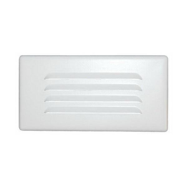 Elite Lighting SE840-WH Ceiling Mount Step Light Trim; White, Insulated/Non-Insulated