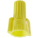 NSI WWC-Y-C Easy Twist™ Winged Wire Connector; 18-10 AWG Cu, Yellow, 100/Box