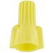 NSI WWC-Y-B Easy Twist™ Winged Wire Connector; 18-10 AWG Cu, Yellow, 500/Bag