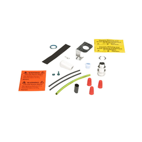 Raychem H900 Plug-In Power Connection Kit; 240 Volt AC, 0.025 Amp/Foot At 40 deg F, 6 Watt/Foot, H311/H611/H612/H621 and H622 Heating Cable Capability