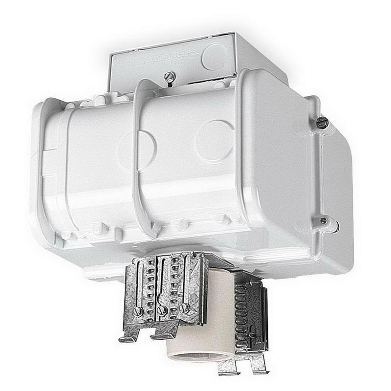 Lithonia Lighting TH-400MP-TB-SCWA-HSG 1-Light Ceiling Mount Metal Halide High Bay Modular Ballast Housing; 400 Watt, White