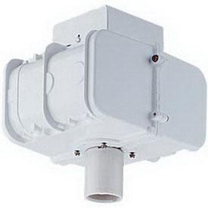 Lithonia Lighting TX-400MP-TB-SCWA-HSG 1-Light Ceiling Mount Metal Halide Ballast Housing; 400 Watt, White