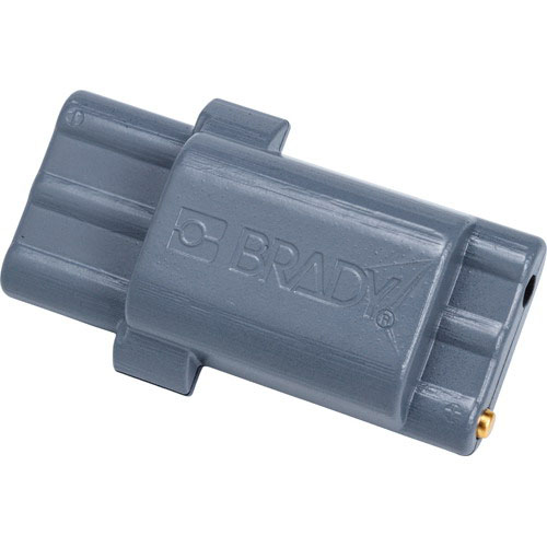 Brady BMP21-PLUS-BATT Rechargeable Battery Pack; 4 Inch Length x 1-27/32 Inch Width x 3-1/4 Inch Height, Gray