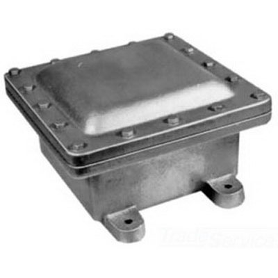 Appleton EXB080806 EXB Series Junction Box 3-1/2 Inch Conduit  Hot-Dipped Galvanized Cast Iron