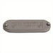 Appleton K75-CA Form 85® Unilet® Blank Conduit Cover; 3/4 Inch, Cast Aluminum