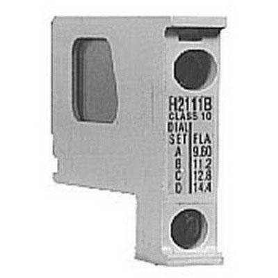"Eaton / Cutler Hammer H2109B-3 Trip Class 10 Fast Trip Heater Element Pack For NEMA Sizes 00-0 Series C, NEMA Sizes 1-2 Series B, IEC Sizes A-F Series C, IEC Sizes G-K Series B Starters,"""