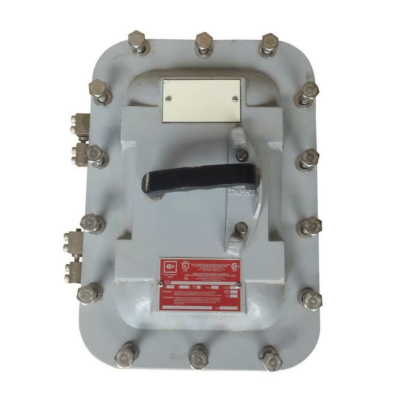 """""Eaton / Cutler Hammer DS361UX Non-Fusible Heavy Duty Disconnect Switch 30 Amp, 600 Volt, 3-Pole, NEMA 7/9, TPST,"""""" 72425"