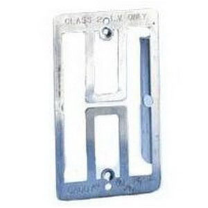 Erico MP1 1-Gang Mounting Plate Bracket 2-1/2 Inch Width x 1/3 Inch Depth x 4-1/2 Inch Height