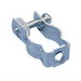 Erico CD3BSS Conduit Clamp; 1.410-1.740 Inch OD, 302 Stainless Steel, Electro-Galvanized Zinc, 100/Pack Standard