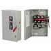 GE Distribution TGN3322R Non-Fusible General Duty Disconnect Safety Switch; 60 Amp, 240 Volt AC/250 Volt DC, 3-Pole, NEMA 3R