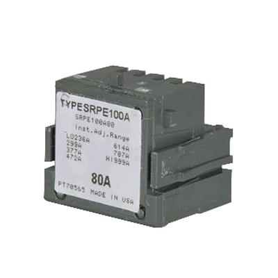 GE Distribution SRPF250A80 Spectra™ Rating Plug; 80 Amp, 480/600 Volt AC