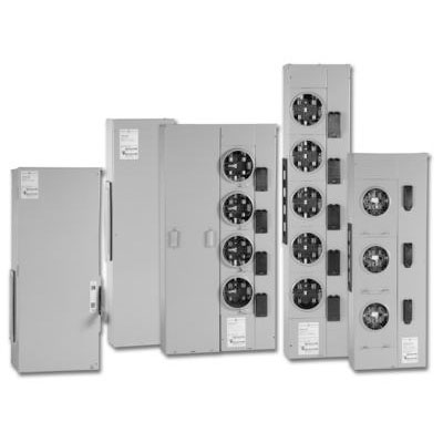 GE Distribution TMP3SB12R Meter Mod® III Main Breaker; 1200 Amp, 120/240 Volt AC, 208Y/120 Volt AC, 3 Phase, End/Center Mount
