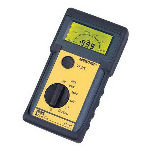 """Ideal 61-791 Megger Insulation Tester 600 Volt,"""""""