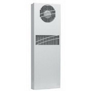 Hoffman XR290816012 CLIMAGUARD™ Air-to-Air Indoor Sealed Enclosure Cooling Heat Exchanger; 115 Volt, 0.6 Amp, 56 DB At 1.5 m Sound, Semi-Textured Powder-Coated Paint, RAL 7035 Light-Gray