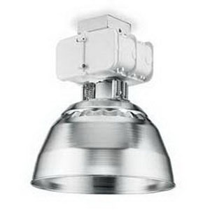 Lithonia Lighting TH400SA16TB-LP 1-Light Ceiling Mount High Pressure Sodium High Bay Light Fixture; 400 Watt, White