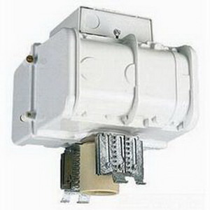 Lithonia Lighting TH 1000MP TB HSG 1-Light Ceiling Mount Metal Halide Housing; 1000 Watt, White