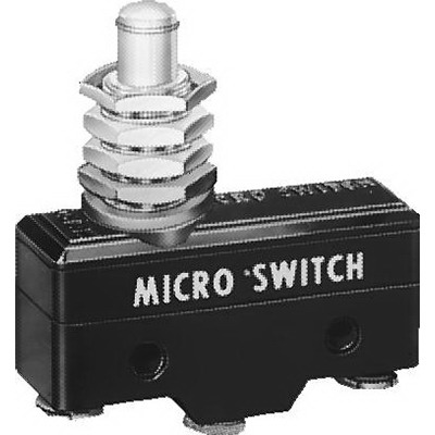 """""Honeywell BA-2RB35-A2 Micro Switch Standard Large Basic Switch 15 Amp, 250 Volt AC, 1-Pole, Plastic,"""""" 65476"
