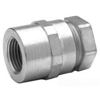 Midwest LTR50 Liquidator™ Combination Coupling; 1/2 Inch, Malleable Iron, Threaded
