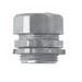 Midwest 1657DC Insulated Straight Connector; 3 Inch, Zinc, Compression x MNPT