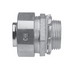 Midwest LT75G-SA Liquidator™ Straight Non-Insulated Liquidtight Connector With Grounding Lug; 3/4 Inch, Aluminum