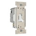 Pass & Seymour T600-WV tradeMaster® Toggle Dimmer; 1 Pole, White, 120 Volt