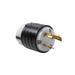Pass & Seymour (LeGrand) L830-P Turnlok® 3 Wire 2 Pole Locking Plug; 30 Amp, 480 Volt AC, Black/White