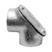 Sepco PEF200 90 Degree Pulling Elbow; 2 Inch, FNPT, Malleable Iron