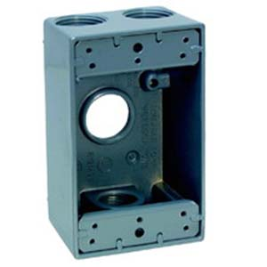 Thepitt TP7174 Extension Adaptor; Gray, For Wet Locations 3 Closure Plugs