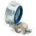 Thomas & Betts 3881 Insulated Grounding Bushing; 6 Inch, Malleable Iron, Zinc Electro-Plated, Threaded