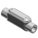 Thomas & Betts C67CG-TB Pre-Assembled Type LB Conduit Body With Cover and Gasket; 2 Inch, Iron, Gray