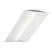 Cree ZR22-32L-35K-10V Recessed/Suspended Mount LED Troffer; 35 Watt, 120 - 277 Volt, 23.700 Inch Width x 23.700 Inch Length, Prepainted Smooth
