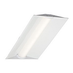 Cree ZR24-40L-35K-10V Recessed/Suspended Mount LED Troffer; 44 Watt, 120 - 277 Volt, 23.700 Inch Width x 47.700 Inch Length, Prepainted Smooth