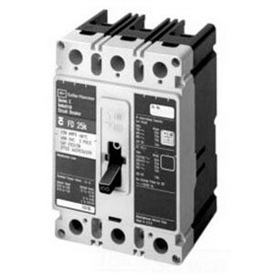Eaton / Cutler Hammer FDB3150L Molded Case Circuit Breaker; 150 Amp, 600 Volt AC Maximum/ 250 Volt DC, 3 Pole