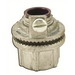 AppletonHUBG75D Grounding Watertight Hub With Insulated Throat; 3/4 Inch, Die-Cast Zinc