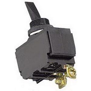 """""Selecta Switch SS508-BG Toggle Switch SPST, 15 Amp At 125 Volt AC, 10 Amp At 250 Volt AC, Black,"""""" 137096"