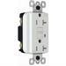 Pass & Seymour 2095-TRWRWCC4 GFCI Receptacle; 125 Volt AC, 20 Amp, NEMA 5-20R, White