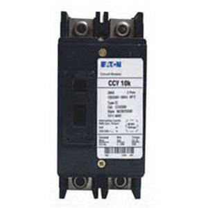 Eaton / Cutler Hammer CCV2100 Tenant Main Circuit Breaker; 100 Amp, 120/240 Volt AC, 2 Pole