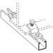 Cooper B-Line B211HDG Zee Beam Clamp; 1 Inch, Low Carbon Steel