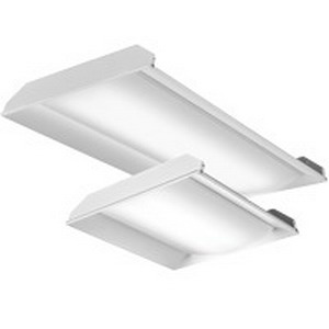 Lithonia Lighting / Acuity 2FSL2-33L-EZ1-LP835 Recessed Mount LED Luminaire; 34.6 Watt, 347 Volt, 24 Inch Width x 24 Inch Length, Polyester Coated