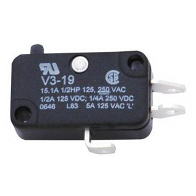 """""Honeywell V3-1001 Micro Switch Basic Miniature Switch 10 Amp, 115 Volt AC and 28 Volt DC,"""""" 57692"