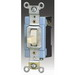 Cooper Wiring 2226V ArrowHart™ AC Quiet Switch; 120/277 Volt AC, 20 Amp, 2 Pole, Maintained Action, Brown
