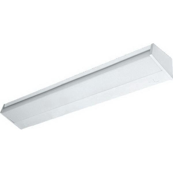H.E. Williams 29-4-232-A-QS-EB2*ADBDUNV Fluorescent Light Fixture; 64 Watt, 2-Lamp, Wall Mount