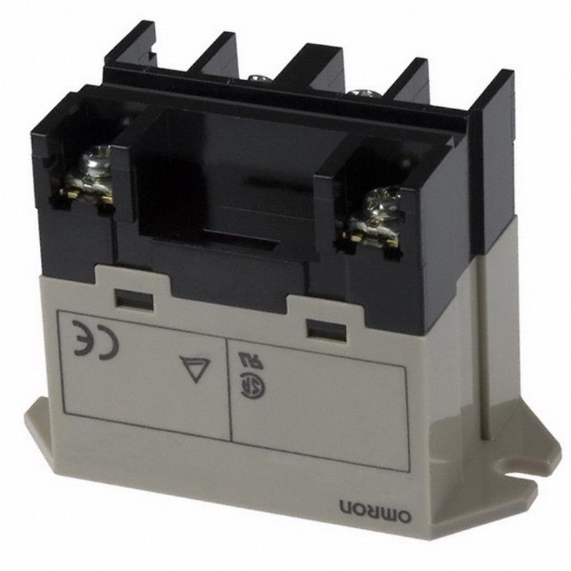 Omron G7L-2A-BUB-J-CB-AC24 Upper Bracket Class B insulation Power Relay; 24 Volt AC, DPST/NO, 2 Pole